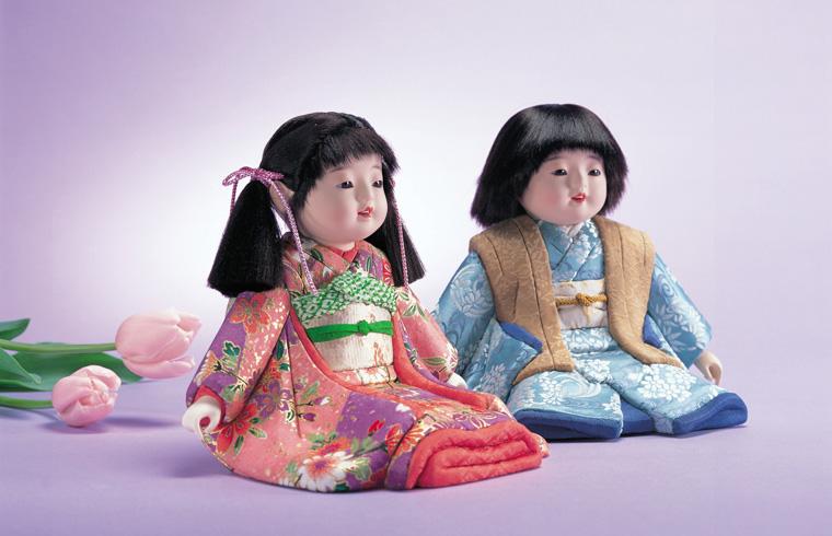 ミニ松人形